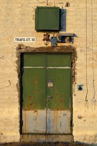 Old Factory Door