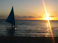 sunset and boat 4