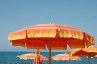 mediterranean beach - italy