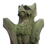 viking bird statue2