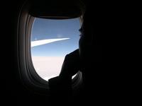 Me at plane