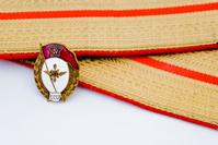 USSR Officer badge and shoulder straps