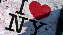 I Love NY memorial sign 1