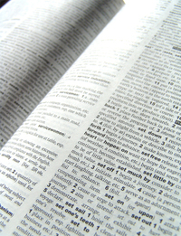 Dictionary words 2