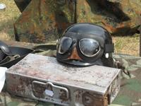Combat helmet & ammo case
