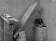 Boots & wood