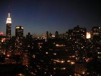 Manhattan at dusk May 2005