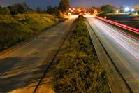 Midnight freeway