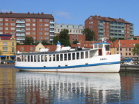 Boat in Karlskrona, Sweden