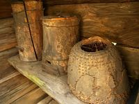 Different old romanian objects