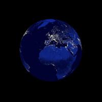 Earth: Night Edition - Europe