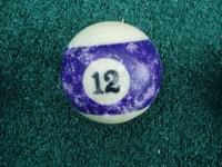 Old Pool Table Balls 12
