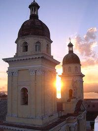 Santiago de Cuba sunset