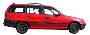 A red car KOMBI