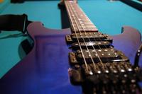 Blue G&L Guitar
