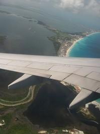 Cancoun by plane 1