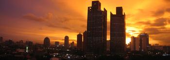 Jakarta's Sunset