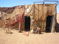 Beduine tent