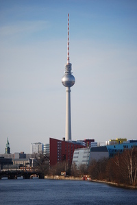 Berlin TV tower 1