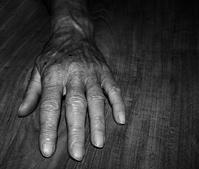 Grandmom hand
