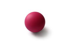 pink rubber ball