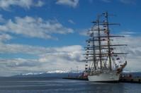 Ship in Ushuia
