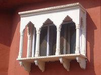 Window in Rajasthan, INDIA