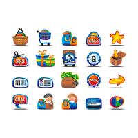 yconco fun free vector icon set