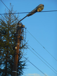 vintage pole