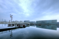 Harbour haze - HDR