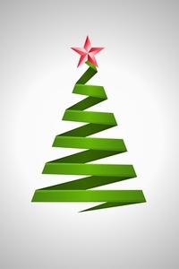 Origami Christmas Tree 1