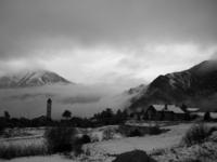 Snow and fog. Nieve y niebla