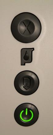 Printer buttons