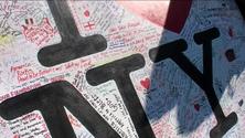 I Love NY memorial sign 2
