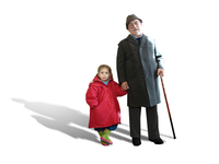 kids and granpa