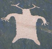 Kachina Spirit Petroglyph