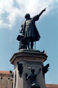 Cristobal Colon / Cristoforo Colombo statue