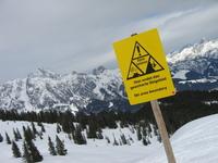 Alpine Gefahren