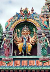 Hindu temple detail 3