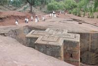 Rock hewn church - Ethiopia