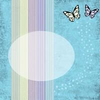 Butterfly card 1