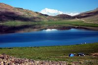 Sohesar lake, Deaosai