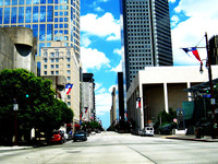 Houston Downtown Streets