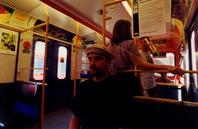 Me in metro