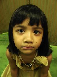 angry lil girl