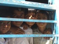 Schoolchildren in India