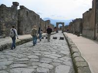 A Pompeii street
