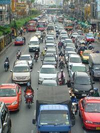 Bankok traffic 2