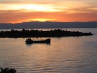 Boat at Sunset 1