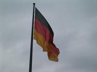 melancholy german flag